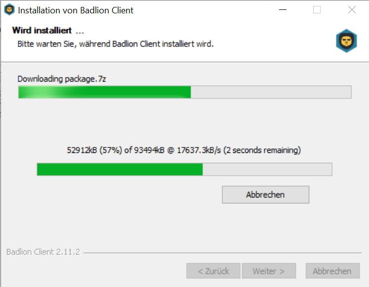 Badlion Install Step 1