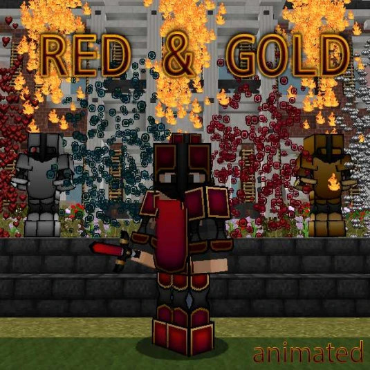 Pyctas RED&GOLD Pack (animated)