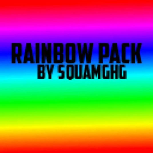 Rainbow Pack by SquamGHG
