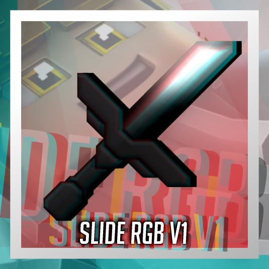 SLIDE RGB [BedWars Overlay] [Animiert]
