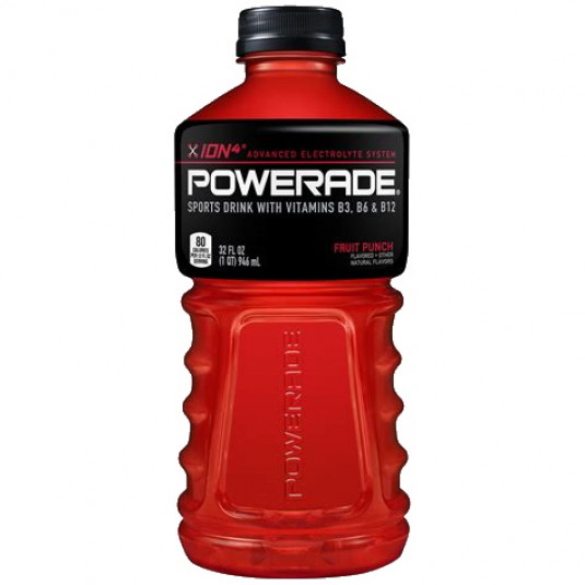 Powerade red