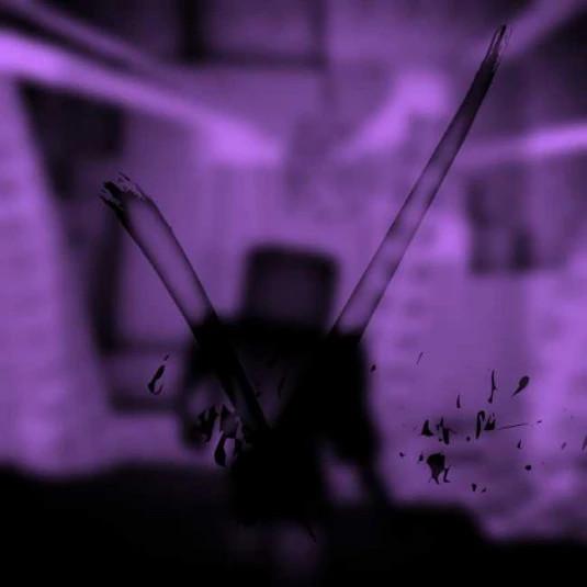 spectral violet.