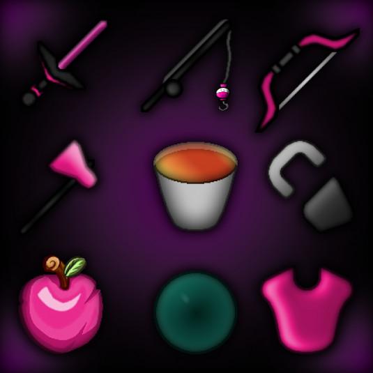 Dark Pink Pack 128x