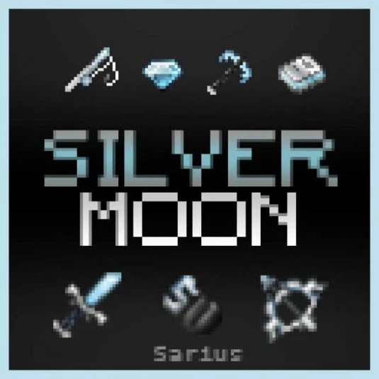 Silver MOON 20x PVP