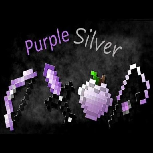 Purple - Silver