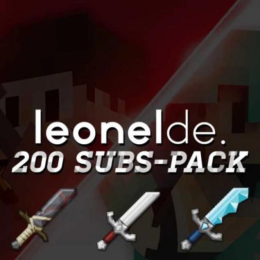 LeonelDE 200 Subs-Pack