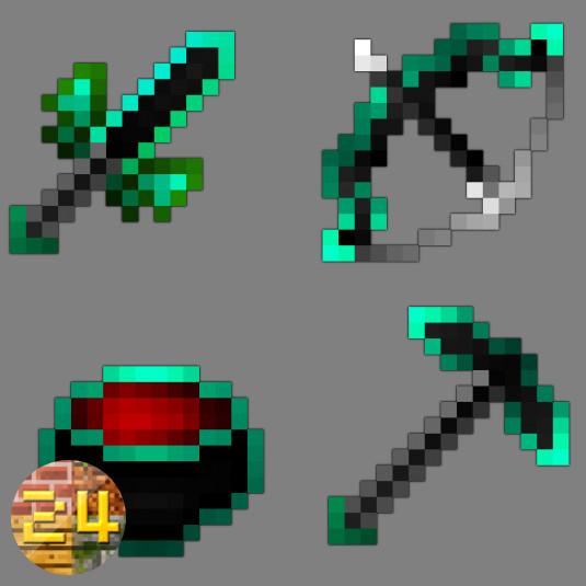 Green-Cyan Pack