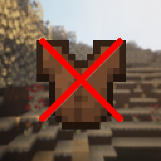 no more leather armor overlay (for hypixel bw)