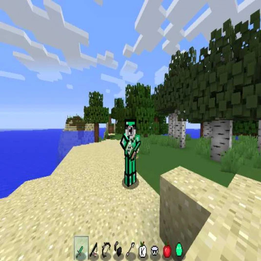 mint green PvP pack