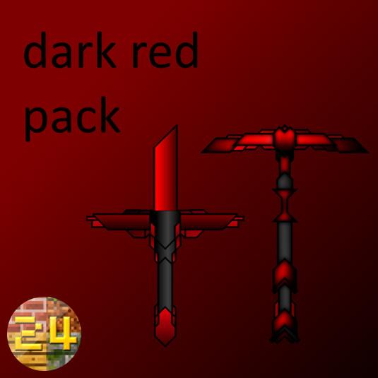 dark red pack