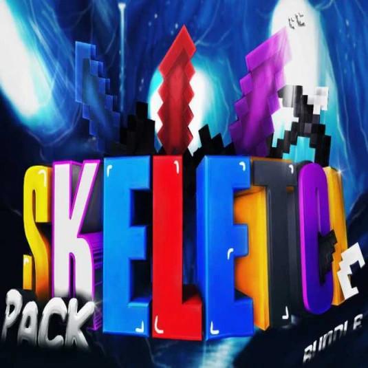 Skeleton Pack [Blue] | PackBundle