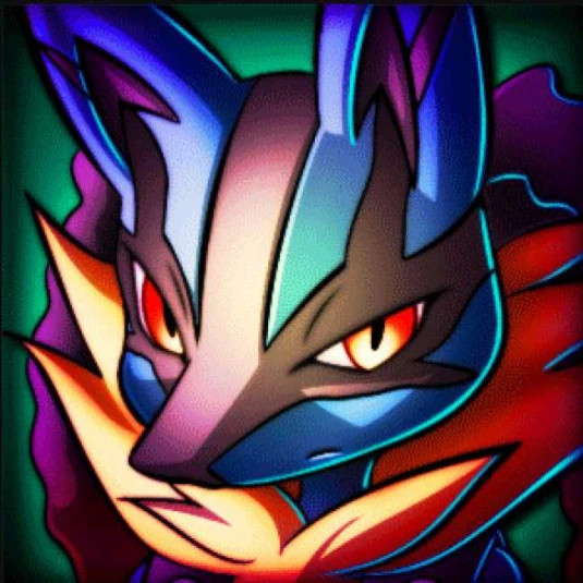 MegaLucario Pack 16x by Wookey