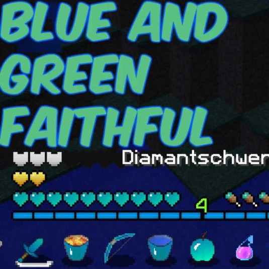 Blue and Green Faithful - by maax