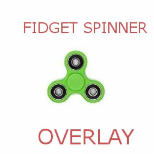 FidgetSpinnerOverlay