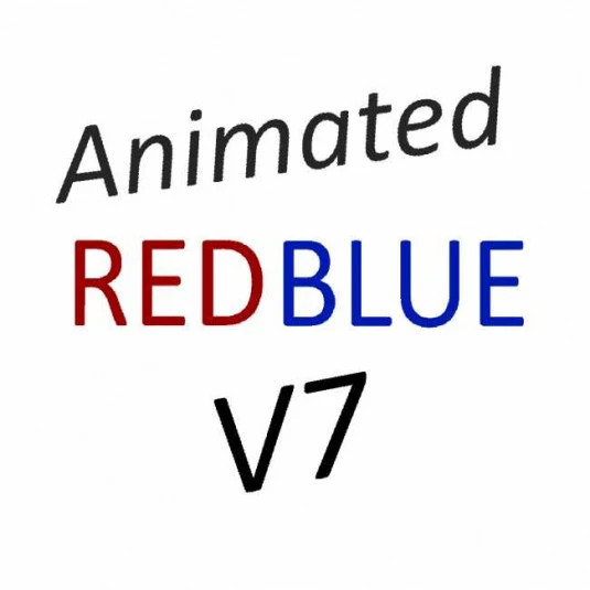 Animated RedBlue Pack V7