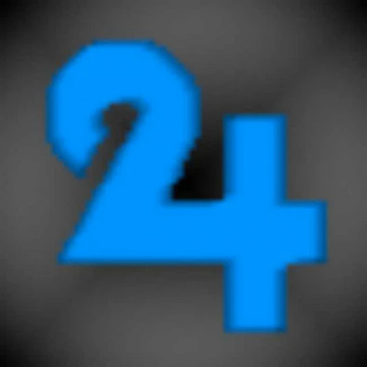 24xBlue