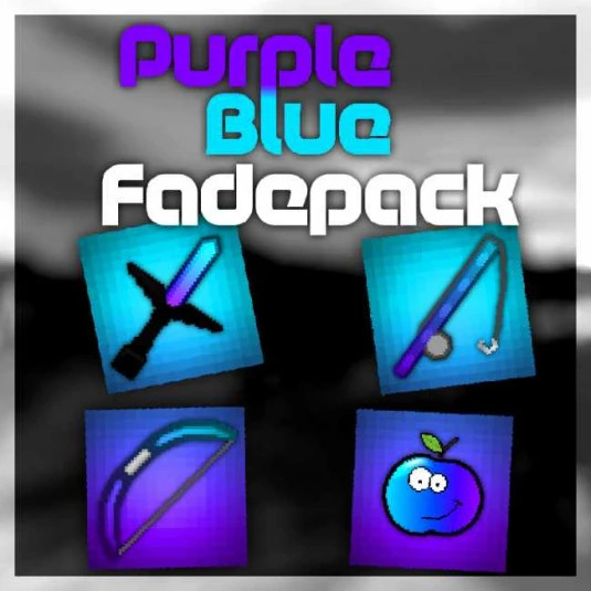 Purple-Blue-Fade Pack