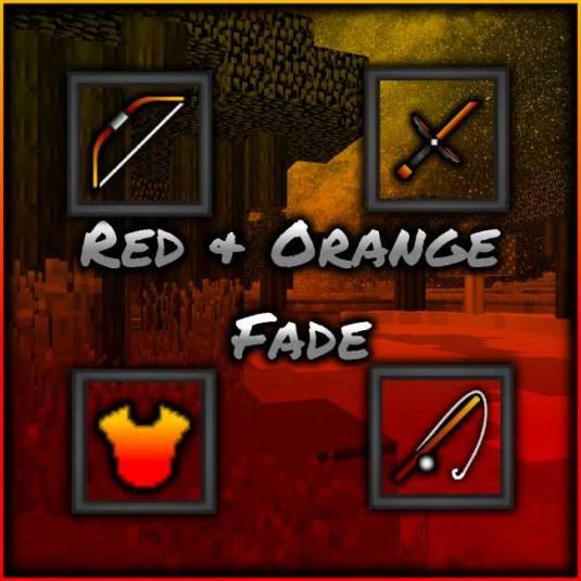 Red & Orange Fade
