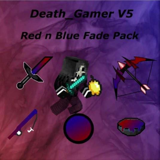 Death_Gamer V5 Red n Blue Fade