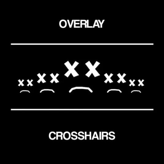Overlay crosshairs
