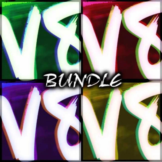 ZICKZACK V8 COLOUR BUNDLE
