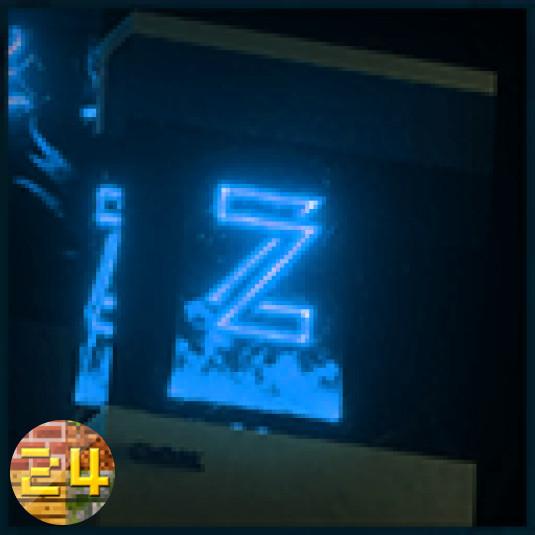 ZickZackV3 - Blau