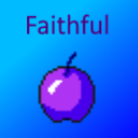 Faithful purple Edit