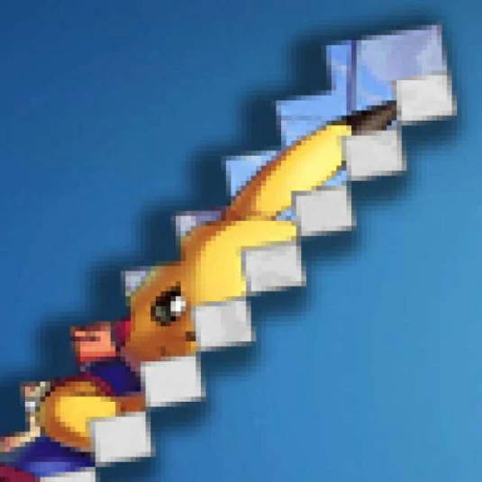 Oldschool Stick Addon - Pikachu