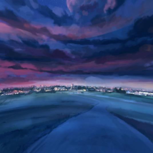 Anime Sky Overlay