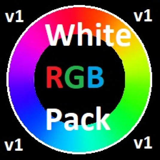 GTT White Chroma RGB Pack v1 made by GTTexturen