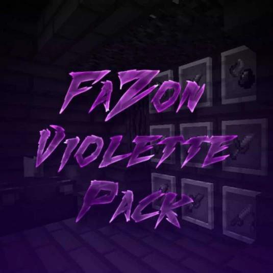 Fazon Violette pack
