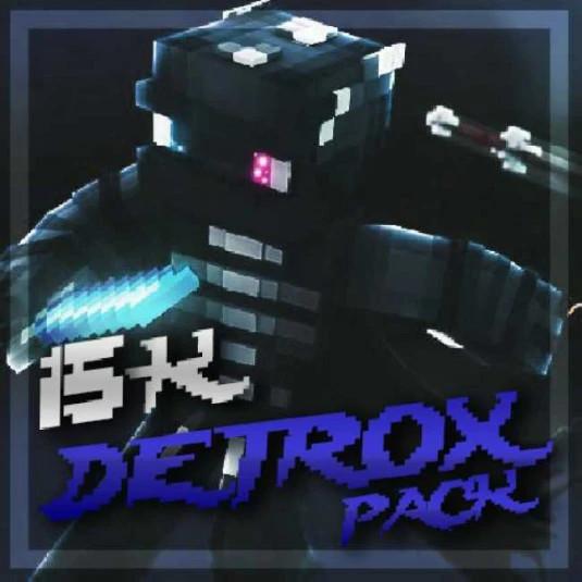 Detrox15k pack in blue