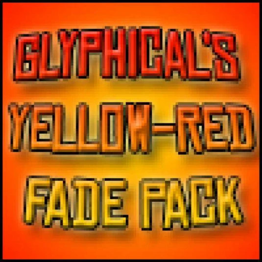 Yellow-Red Fade