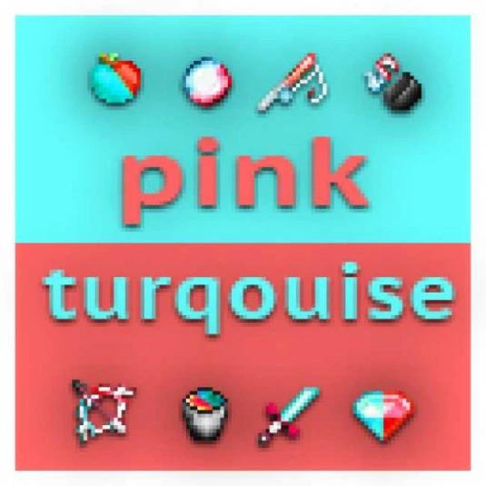 PINK & TURQUOISE [Default edit 20x]
