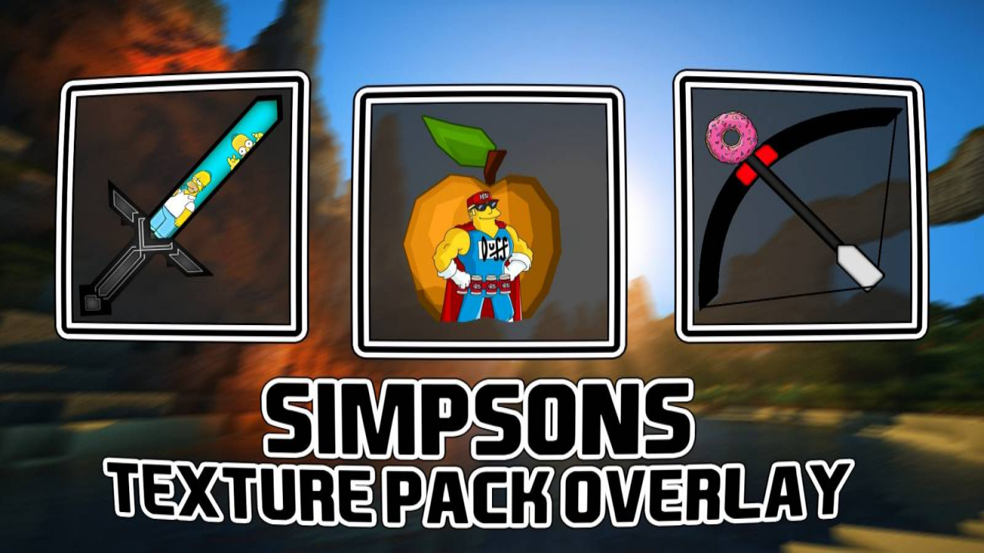 Simpsons Texture Pack Overlay