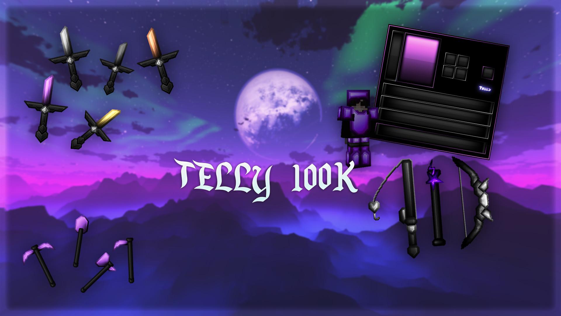 Telly 100K Pack (White Sandstone)