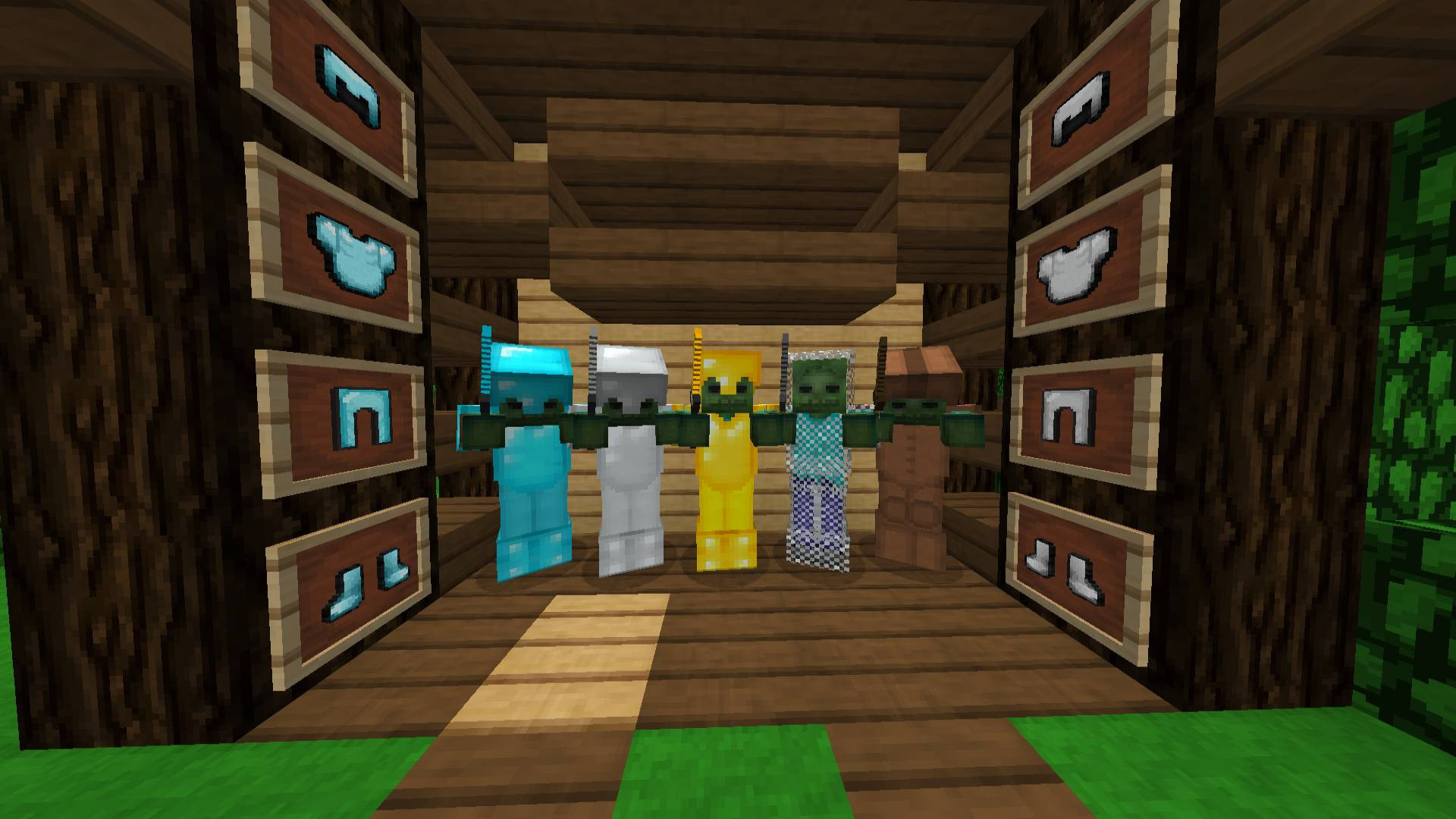 [32x] LightBlue UHC Infinite + Skin