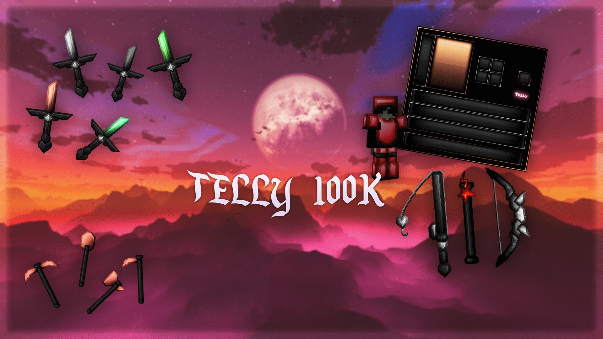 Telly 100K Pack (Red)