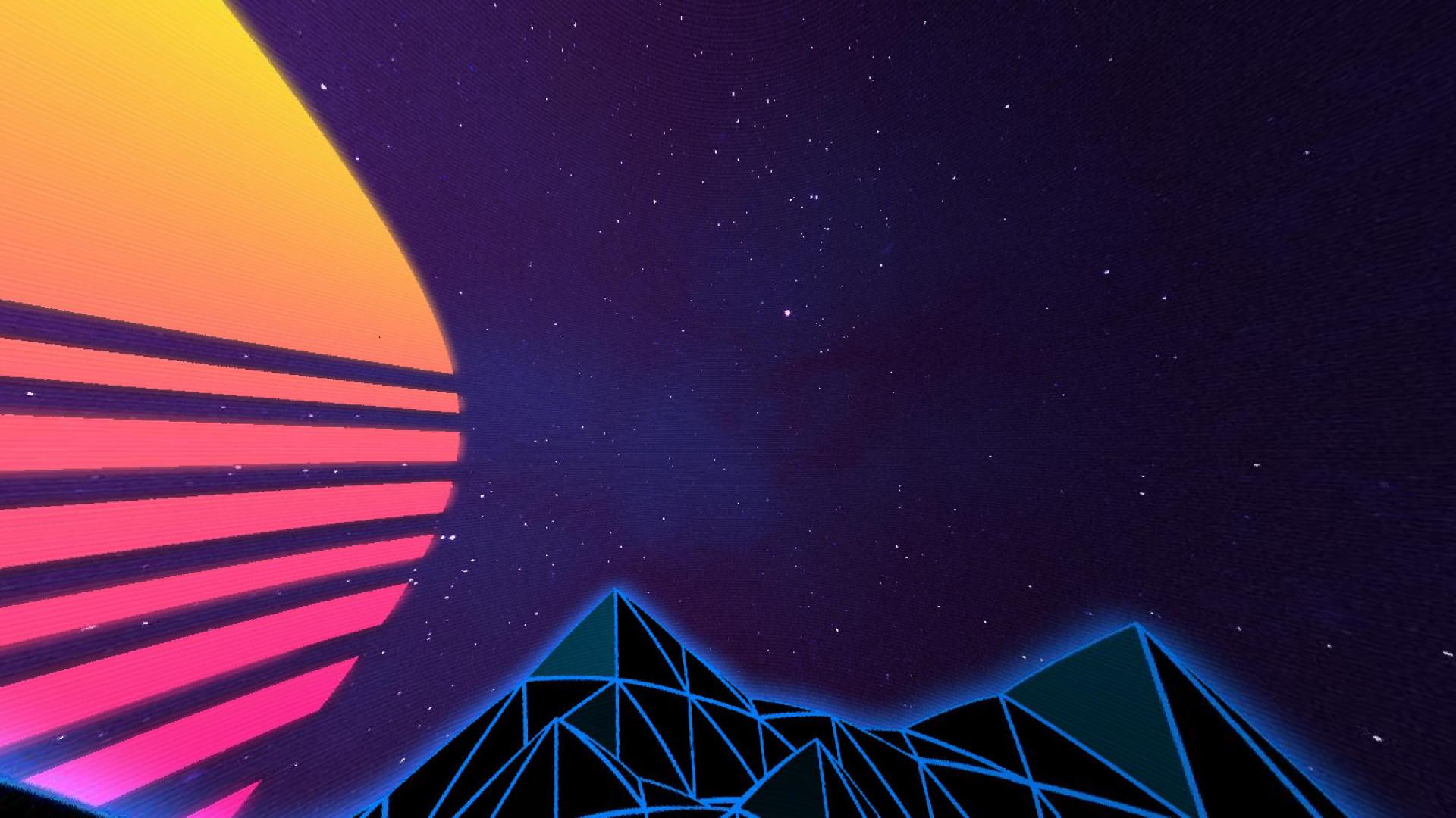 Neon Sky Overlay
